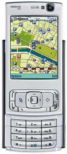foto del cellulare Nokia N95