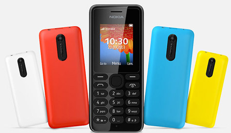 foto scheda Nokia 108