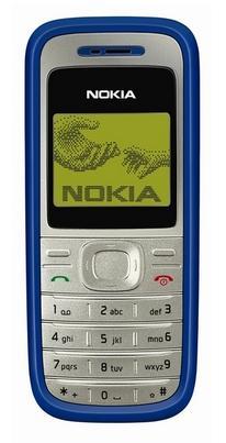 foto del cellulare Nokia 1200
