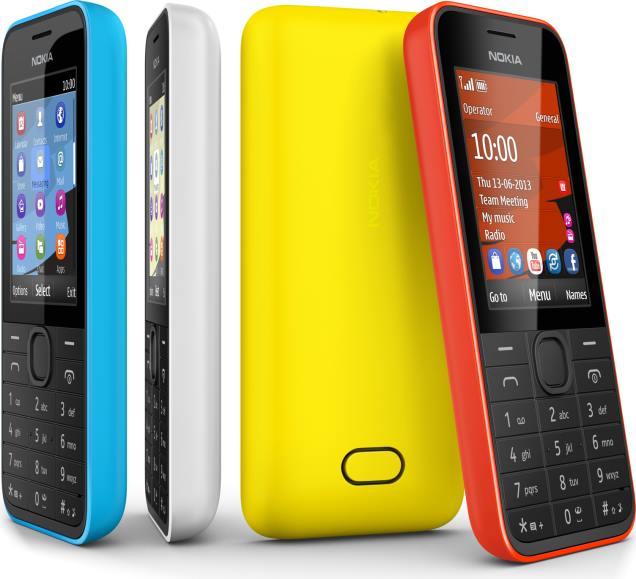 foto del cellulare Nokia 207