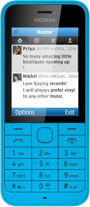 foto del cellulare Nokia 220