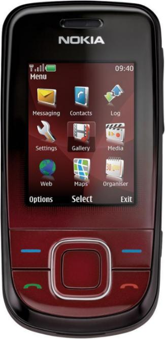foto del cellulare Nokia 3600 Slide