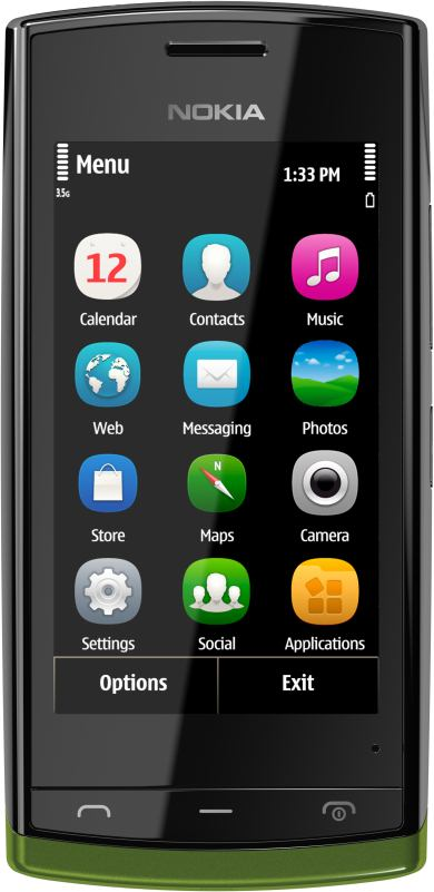 foto scheda Nokia 500