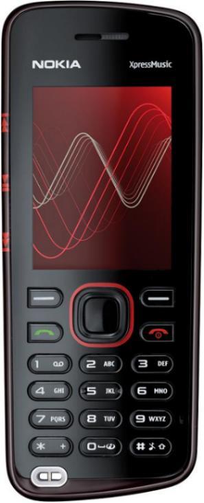 foto del cellulare Nokia 5220 XpressMusic