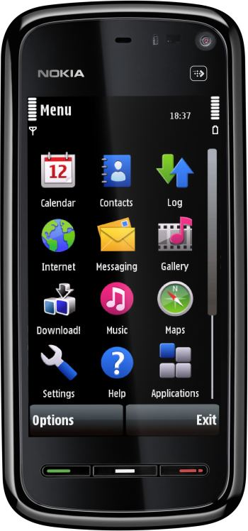 foto del cellulare Nokia 5800 Navigation Edition