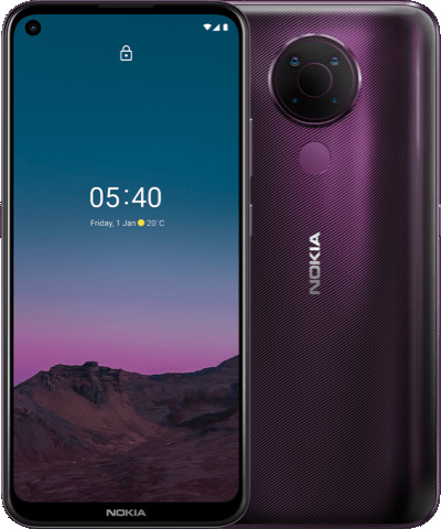 foto del cellulare Nokia 5.4