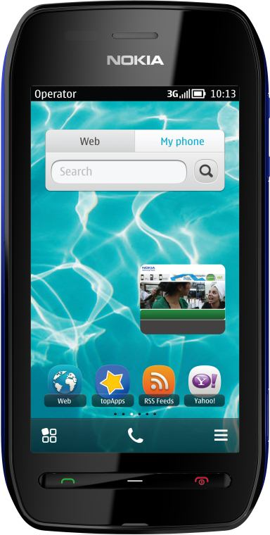 foto del cellulare Nokia 603