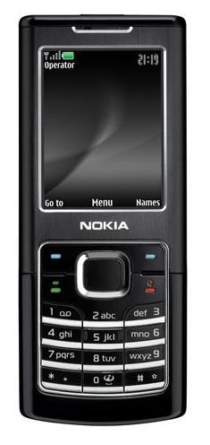 foto del cellulare Nokia 6500 Classic