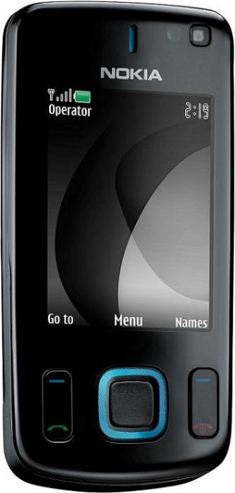 foto del cellulare Nokia 6600 Slide