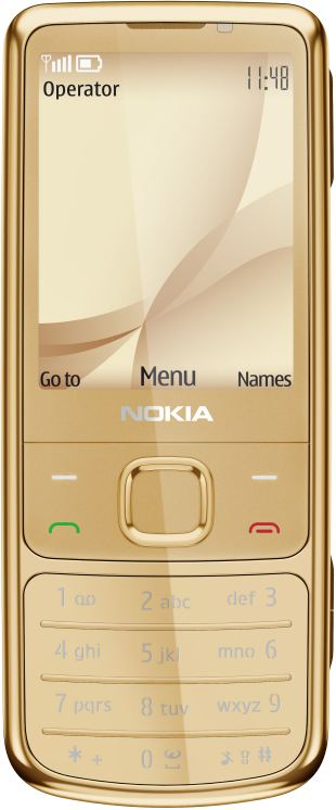 foto del cellulare Nokia 6700 Classic Gold Edition