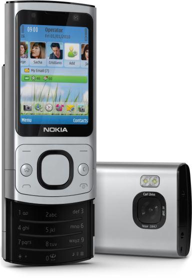 foto del cellulare Nokia 6700 Slide