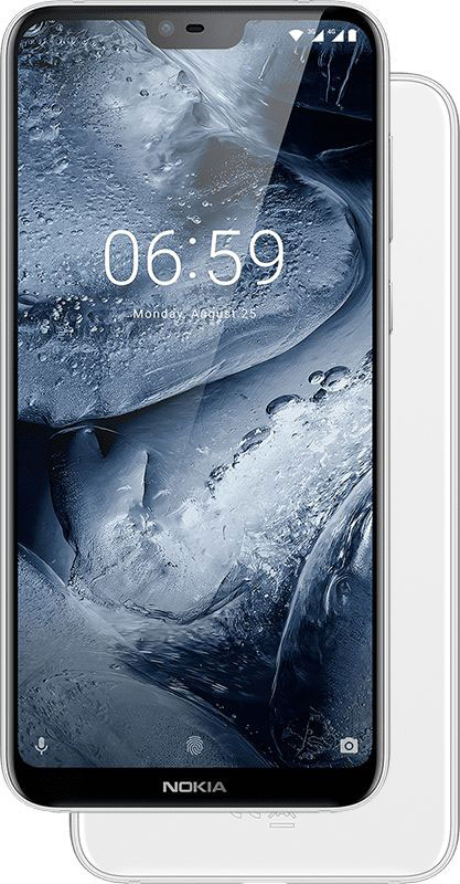 foto del cellulare Nokia 6.1 Plus