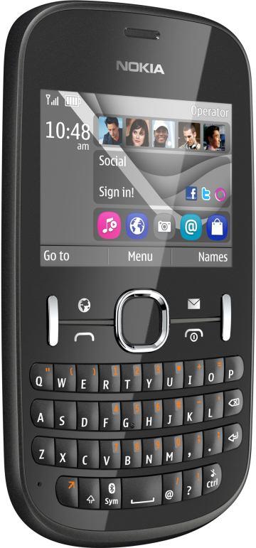 foto scheda Nokia Asha 201