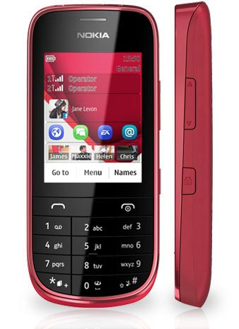 foto del cellulare Nokia Asha 202