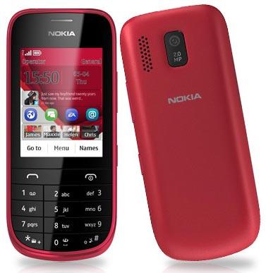 foto del cellulare Nokia Asha 203