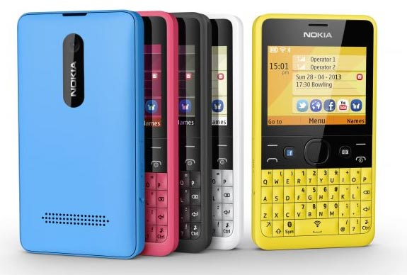 foto del cellulare Nokia Asha 210
