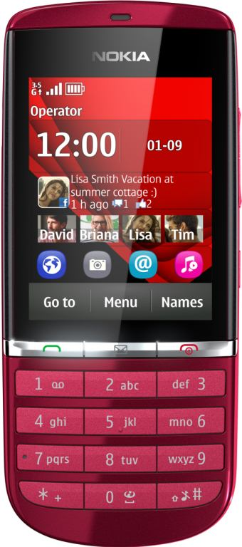 foto del cellulare Nokia Asha 300