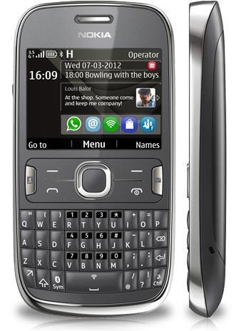 foto del cellulare Nokia Asha 302