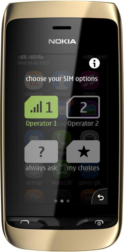 foto del cellulare Nokia Asha 310