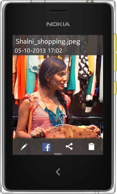 foto del cellulare Nokia Asha 502 Dual SIM