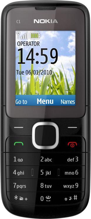 foto del cellulare Nokia C1-01
