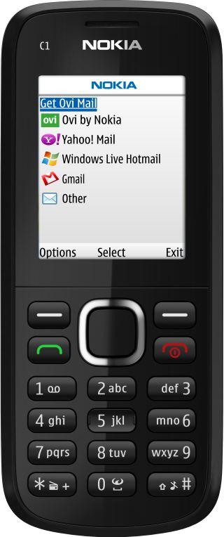 foto del cellulare Nokia C1-02