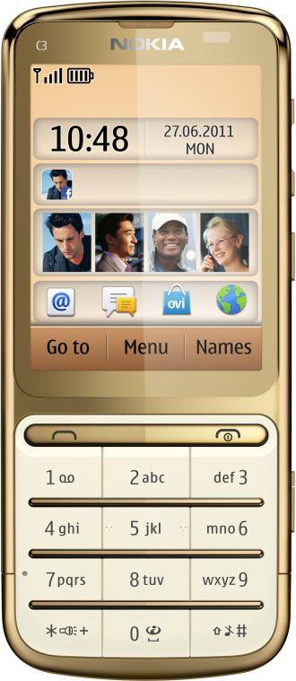 foto del cellulare Nokia C3-01 Gold Edition