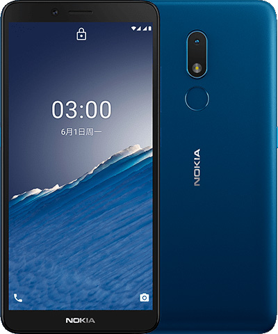 foto del cellulare Nokia C3 2020