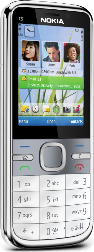 foto scheda Nokia C5