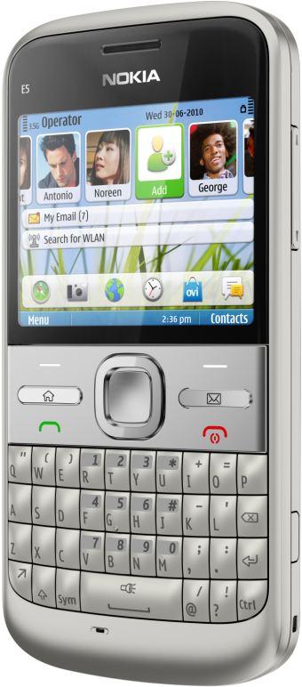 foto del cellulare Nokia E5