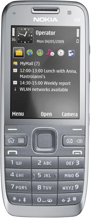 Scheda tecnica Nokia E52