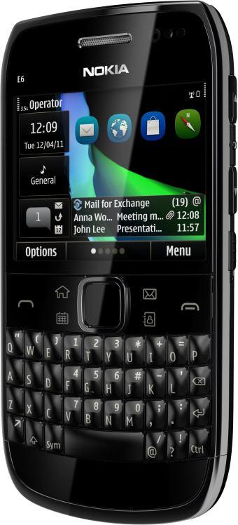foto del cellulare Nokia E6