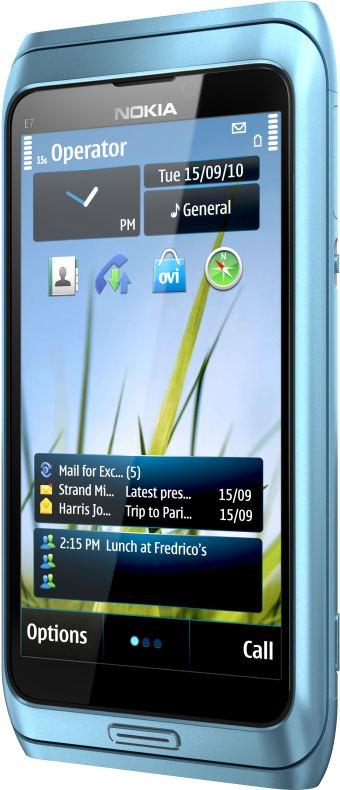 foto del cellulare Nokia E7