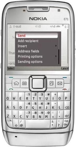 foto del cellulare Nokia E71