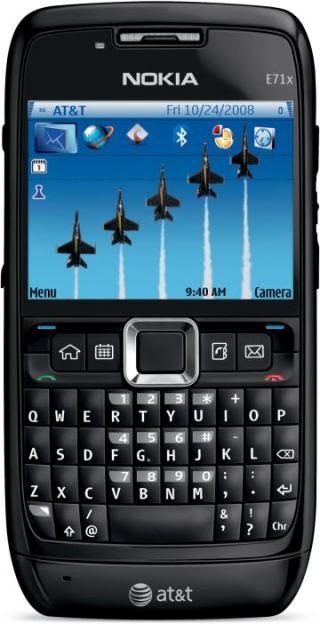 foto del cellulare Nokia E71x