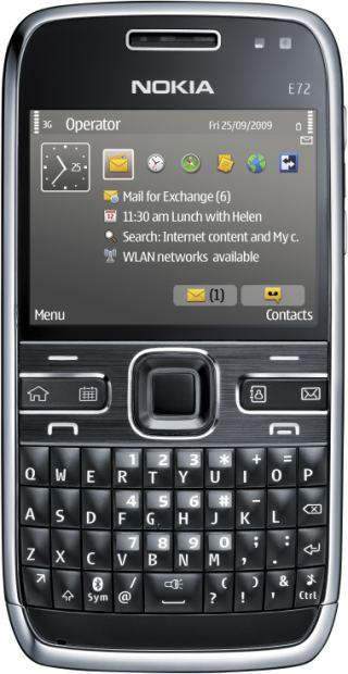 foto del cellulare Nokia E72