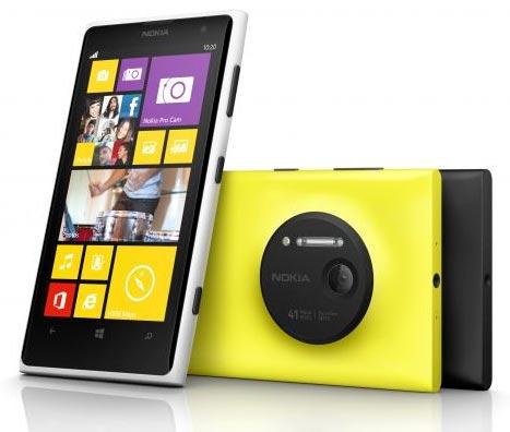 foto scheda Nokia Lumia 1020