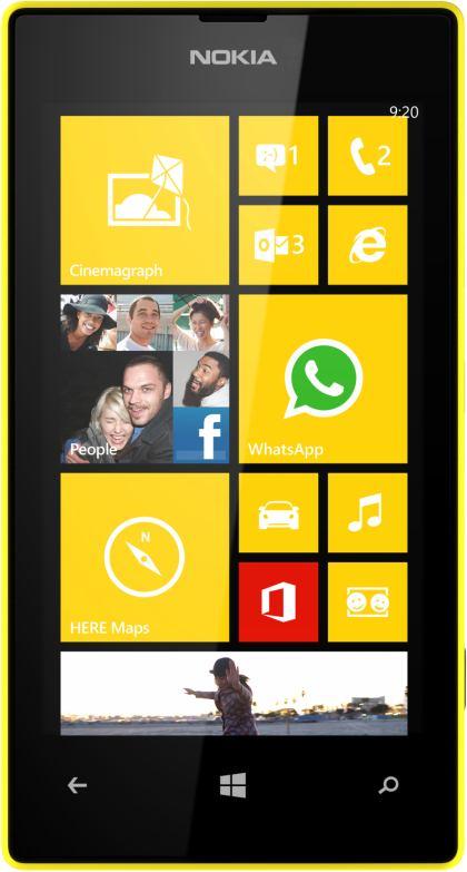 foto scheda Nokia Lumia 520