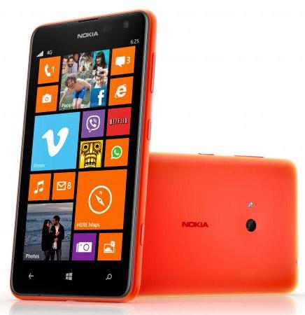 foto del cellulare Nokia Lumia 625