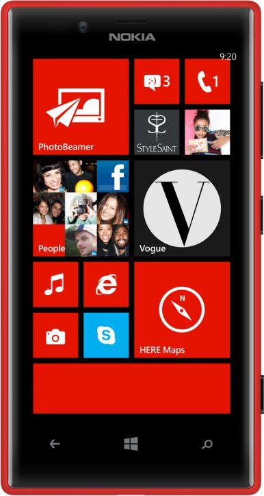 foto Nokia Lumia 720