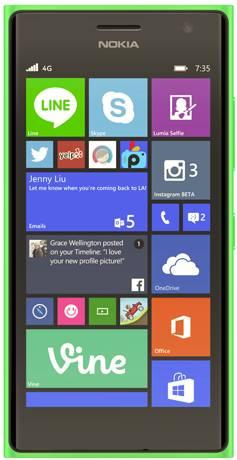 foto del cellulare Nokia Lumia 730