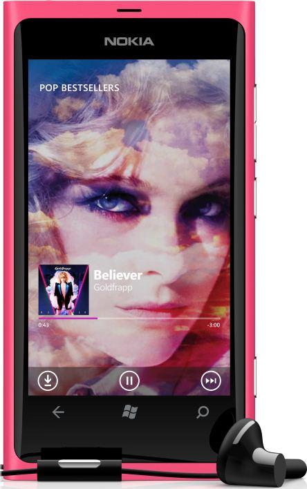 foto scheda Nokia Lumia 800