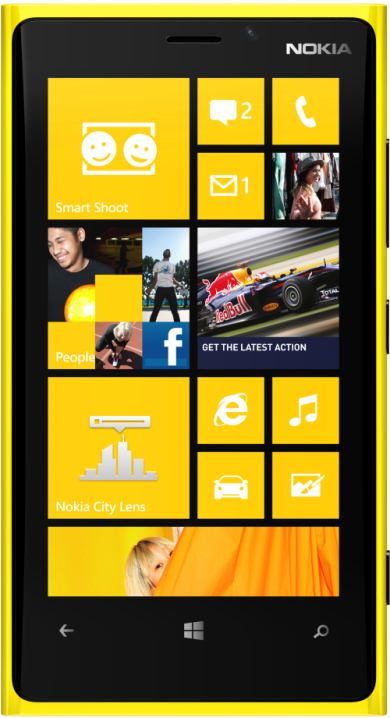 foto scheda Nokia Lumia 920