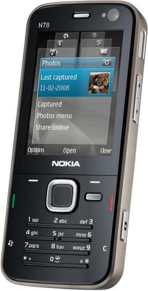 foto del cellulare Nokia N78