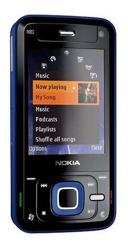 foto del cellulare Nokia N81