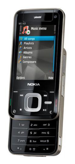 foto del cellulare Nokia N81 8GB