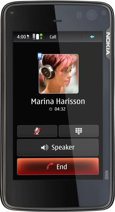 foto del cellulare Nokia N900