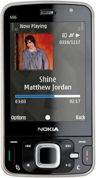 foto del cellulare Nokia N96