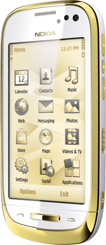 foto del cellulare Nokia Oro