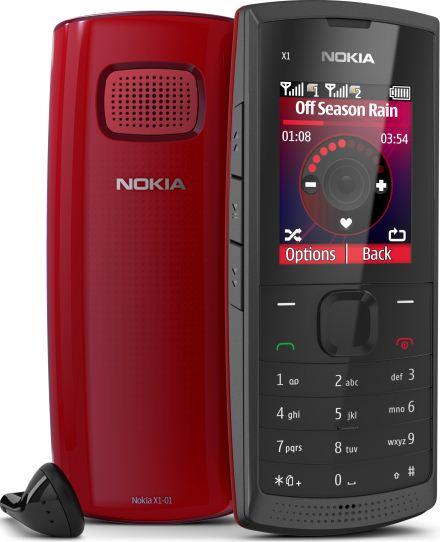 foto del cellulare Nokia X1-01